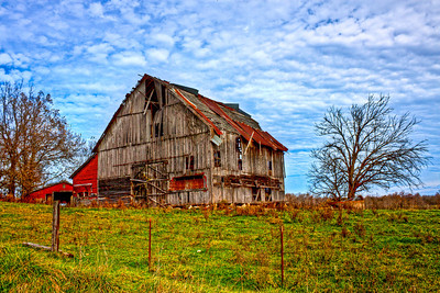 Old Barn in Rural Missouri