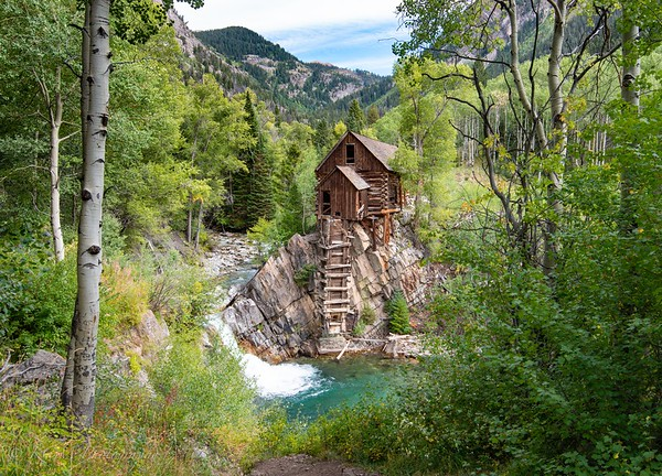 Crystal Mill through the Woods