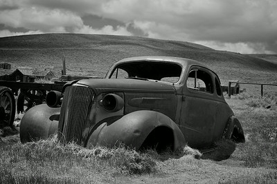 Abandoned 1937 Chevy