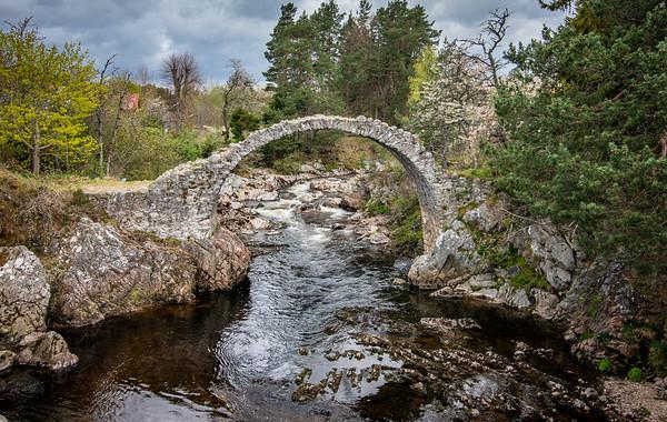 Old Packhorse Bridge - Scotland