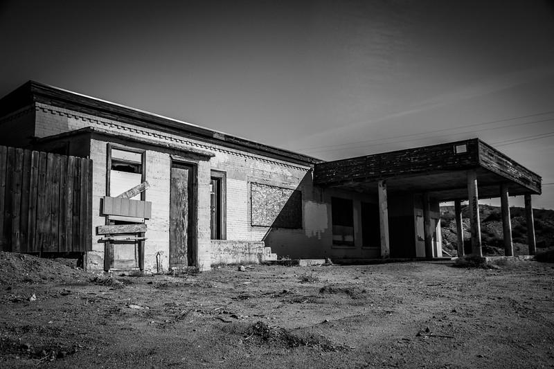 Desert Gas Station 1