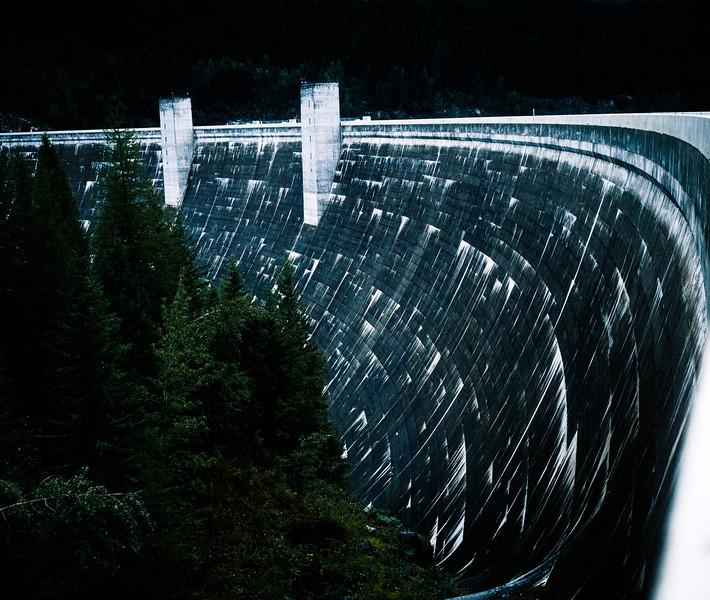 Hungry Horse Dam, Montana, 1996