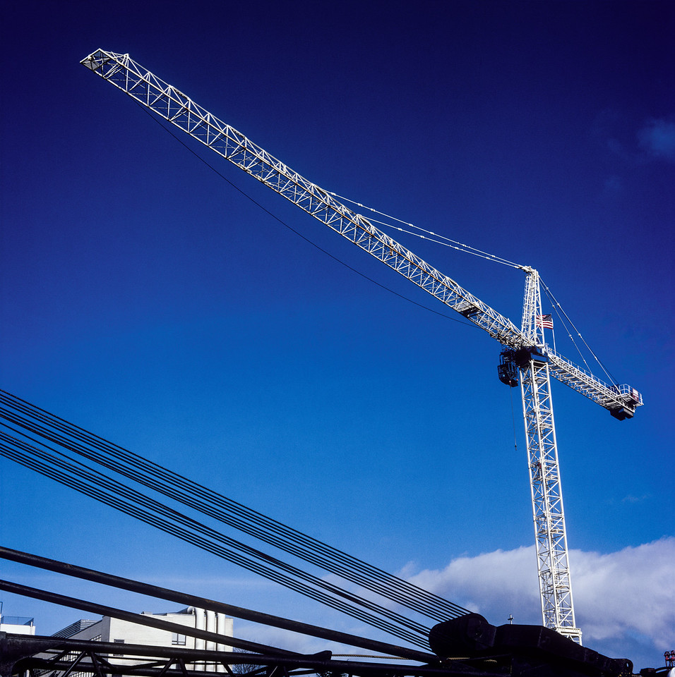 Crane, Seattle, Washington, 1991