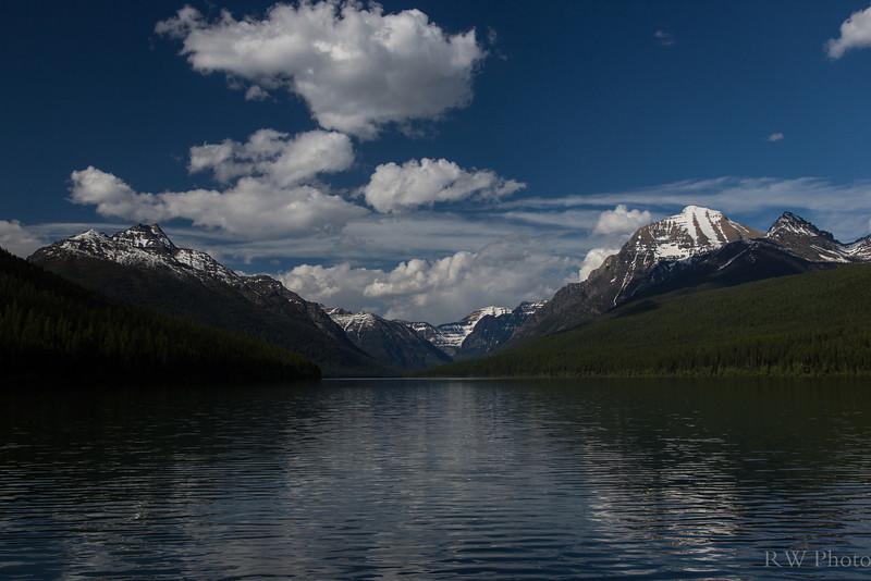 Another beautiful Bowman Lake day