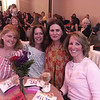 Left, Tracey Edwards of Tyngsboro, Lyndabeth Abraham and Diane Fokas of Lowell, and Kim McQuade of Chelmsford
