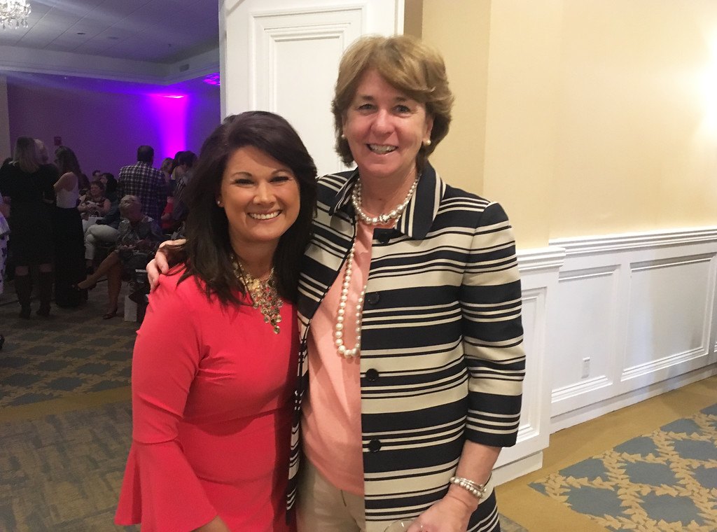 . Stephanie Gilchrist of Chelmsford and Trish O�Donnell of Lowell