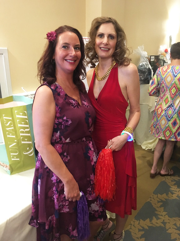 . Danielle Pinard of Nashua and Lori Mattheiss of Andover