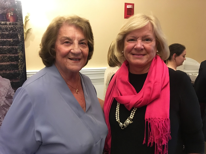 Mary McCaffrey and Cathy McClutchy of Chelmsford