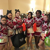 Lowell High School cheerleaders