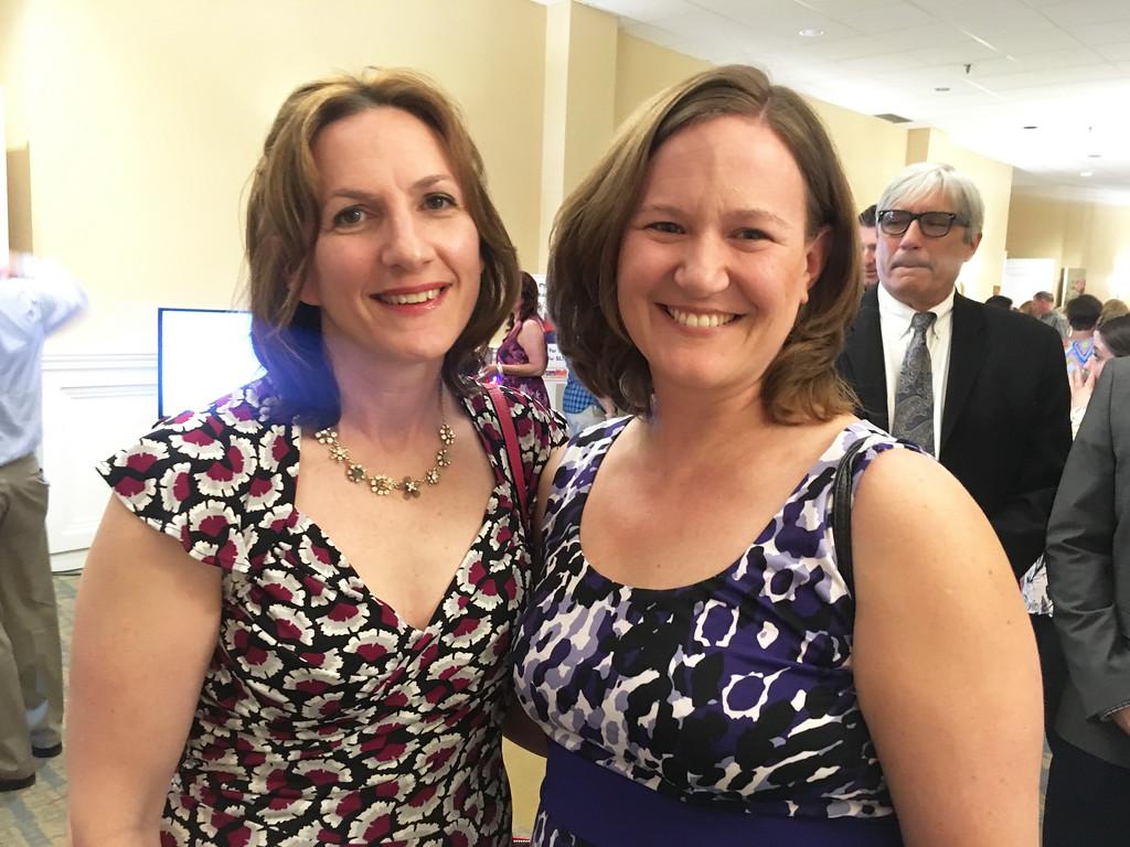 . Amy Dempster and Bridget Krangle of Westford