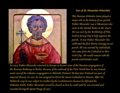 Icon of St. Alexander
