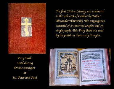 Pray Book used in the Church Services