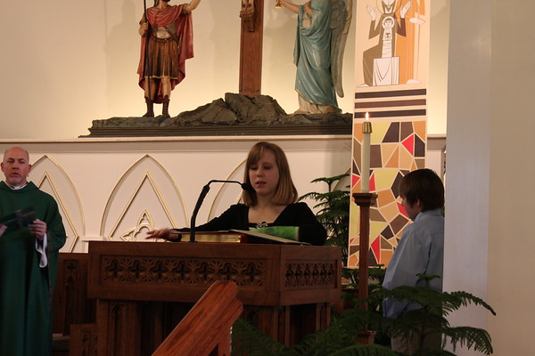 First Communion Jan 29 2012