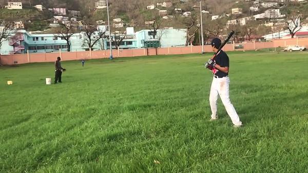 Batting Practice After Irma!