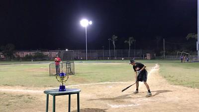 Tristan home run in home run derby