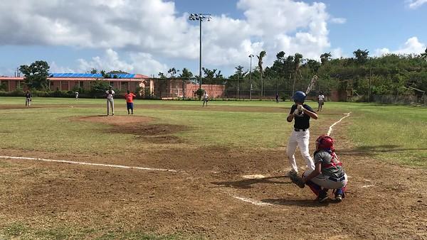 Tristan 2018 single to right field gap