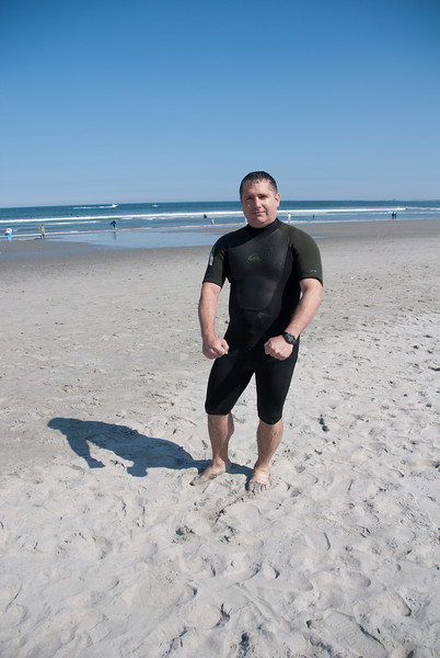 The wet suit I wore.