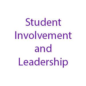 Student Involvement and Leadership