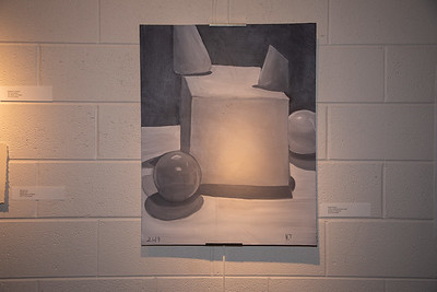 Student art exhibit-4393