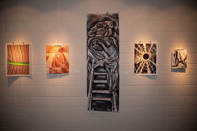 Student art exhibit-4390