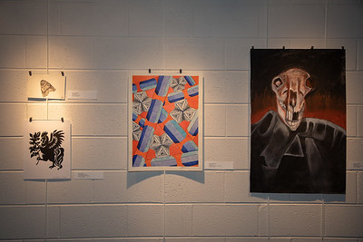 Student art exhibit-4376