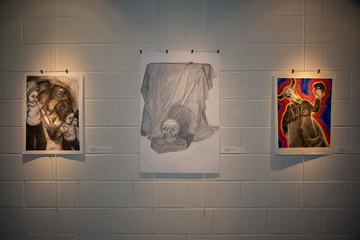 Student art exhibit-4384