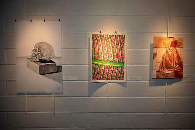 Student art exhibit-4391