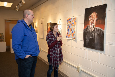 Student art exhibit-4433