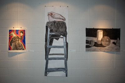 Student art exhibit-4383