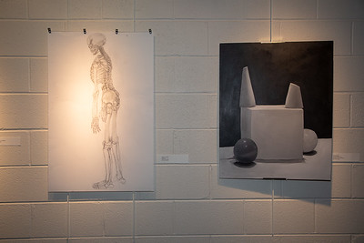 Student art exhibit-4388