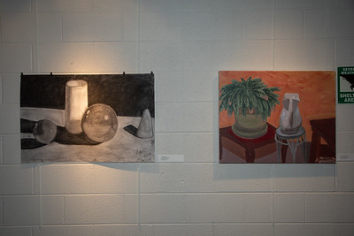 Student art exhibit-4382