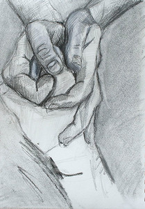 Hands (Madison Haskins; pencil)