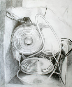 Lamp Box (NamAnh Ngyuen; pencil)
