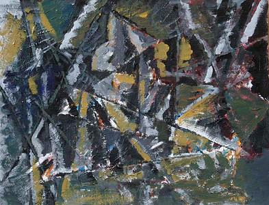 Cubist Still Life (Biggy Nandabhiwat; acrylic)