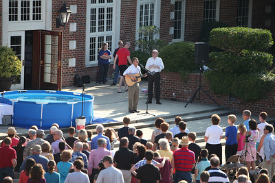Student Baptism Service '13