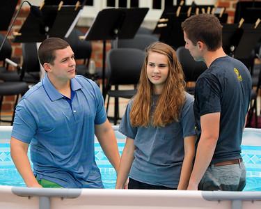 Student Baptism Service '14