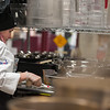 Madison Ward of South St Elementary works on her Shepard's Pie at the 2017 Future Chef Competition at Fitchburg High School. SENTINEL&ENTERPRISE/ Jim Marabello
