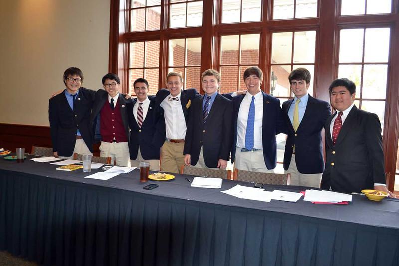 (L-R) Peter Kim, Jonathan Lau, Aaron Long, Griff Fleenor, John Crum, Brian Keith, Carl McPhail, Nathaniel Lim