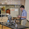 A demonstration by members of the Robotics Team.