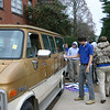 "The ""graffiti car"" (this year, it was the graffiti van) always proves to be a hit."