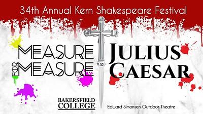 2018: 34th Annual Kern Shakespeare Festival