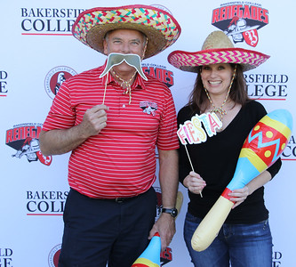 Tom Gelder(left) and Courtney Carter