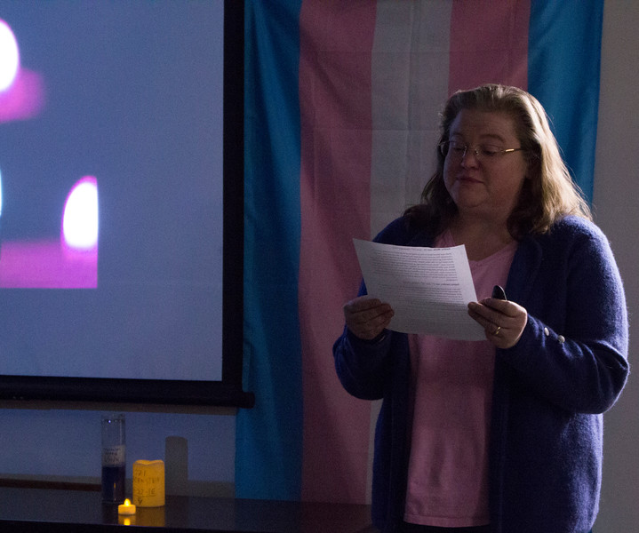Communication professor Helen Acosta talks about way that cis-gendered people can be allies to the transgender community.