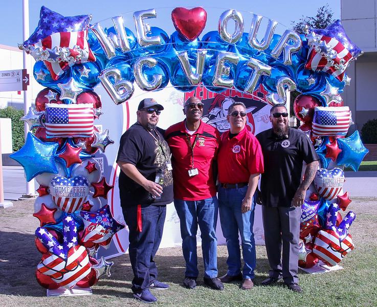 Javier Llamas, Tommy Tunson, Paul Beckworth and Armando Trujillo