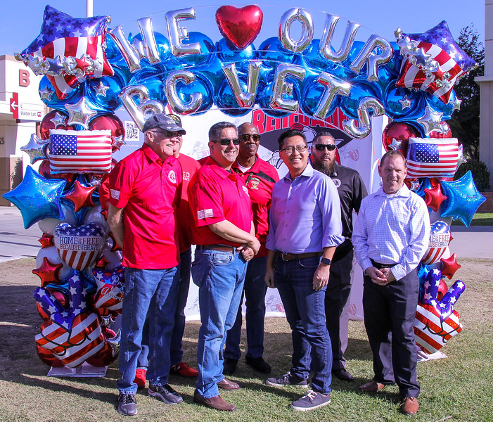Randy Dickow, Paul Beckworth, Tommy Tunson, Assemblymember Vince Fong, Armando Trujillo, and Perry Finzel