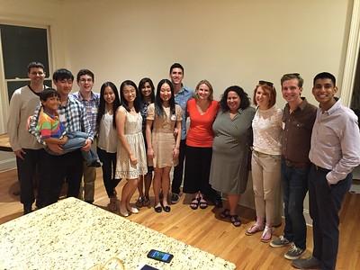 Dinner with 12 Strangers- Spring 2015