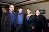 (left to right) Brandon Hogan, who will receive an honorary doctorate for his work in film; Jesse Newhouse and his wife, Stephanie, and Brandon's wife, Kelly, at the RMC President's Dinner. Jesse Newhouse is partner with Hogan on Paradox Film, the only film division of publishing giant, Newhouse.