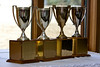 The President and Deans cups await their 2008 recipients.