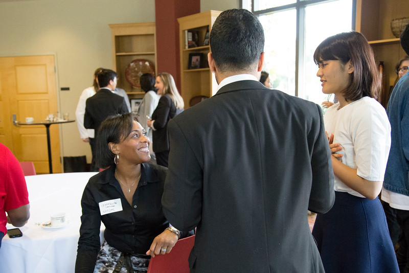 Employer and Diverse Student Networking Reception