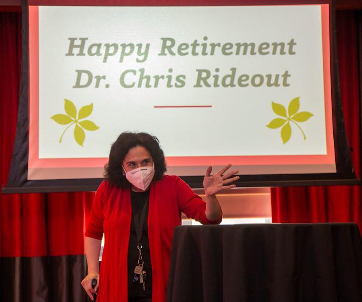 2021 Chris Rideout Retirement